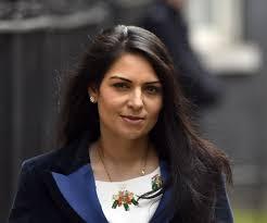 The cabinet minister criticised last summer's protests. Priti Patel Monmona