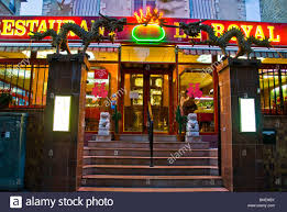 chinese restaurant outside. Modren Chinese Paris France Chinese Restaurant Outside Front Entrance With Neon Sign   Stock Image On Restaurant S