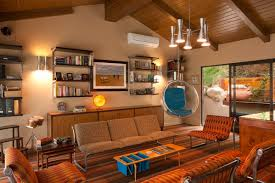 ... Outstanding Home Interior Design And Decoration With 1960s Retro  Furniture : Beautiful Living Room Decoration Design ...