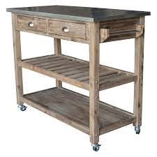 Rustic Kitchen Cart Island Marble Top Kitchen Cart Home Design And Decorating