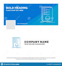 Design Check Categories Blue Business Logo Template For Categories Check List