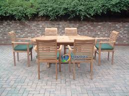 outdoor wood dining table set. dining table set it consists of: outdoor wood
