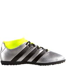 adidas indoor soccer shoes youth. adidas ace 16.3 primemesh tf j silver/black/yellow youth turf soccer shoes - indoor
