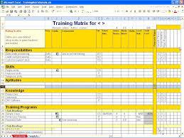 Calendar Schedule Template Format Employee Training Plan