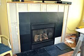 slate fireplace surround care maintenance tile ideas ryan homes