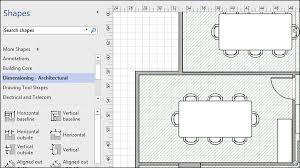 Grids not only help to align shapes within the drawing but can also be an important measurement tool. Adding Dimensions To A Floor Plan Tutorialspoint