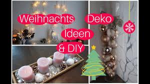 3 Deko Ideen Für Weihnachten Diy Unsere Weihnachtsdeko Teil 1