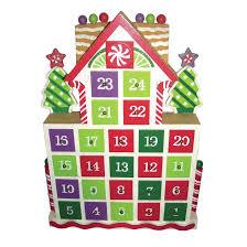 Gingerbread Kitchen Curtains Santas Workshop Gingerbread Advent Calendar Reviews Wayfair