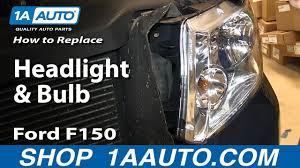 2006 Ford F150 Fog Light Bulb Size How To Replace Change Headlight And Bulb 04 08 Ford F150