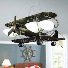 kids room ceiling lighting. Brilliant Cool 4 Light Airplane Kids Room Ceiling Wrought Iron Regarding Lighting L
