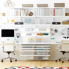 office closet shelving. white elfa dcor home office closet shelving c