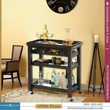 portable mirrored wine rack bar serving storage party tray
