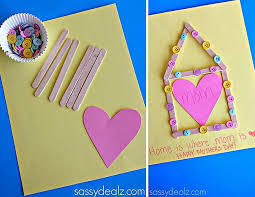 view in gallery diy popsicle stick and on mother s day card