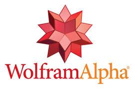 logotipo cortesía de wolfram alpha
