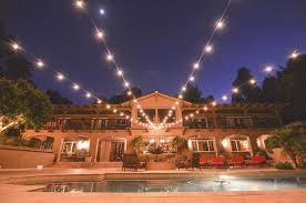 Backyard String Lighting Ideas Elegant Market Lights Party Globe