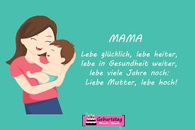 Geburtstagswunsche Fur Mama Von Tochter Design