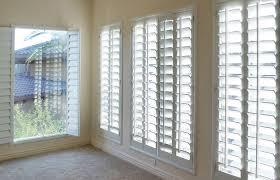 window treatments. Fine Window Plantation Shutters On Window Treatments
