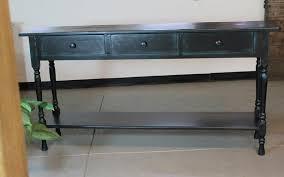 Black Sofa Table With Storage Sofa Table Black With Storage Nongzico
