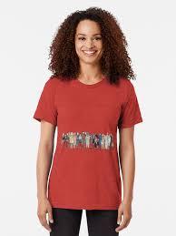 Gravity Rush Size Chart Tri Blend T Shirt