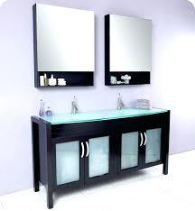unusual bathroom furniture. Amazing Unique Bathroom Medicine Cabinet Double Sink Vanity W Tempered Glass Unusual Furniture