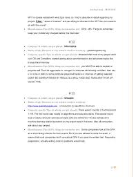 Computer Science Resume ... 18.