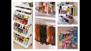 Shoe Organization Best Shoe Storage Ideas Home Organization Tips Youtube