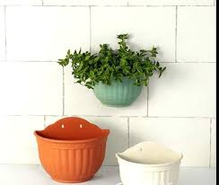 wall flower pots wall planters indoor outdoor wall flower pot holders