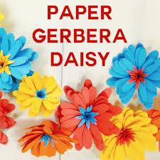 Daisy Paper Flower Paper Daisy An Easy Rolled Flower Jennifer Maker