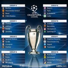 the 2017 18 uefa champions league group stage fixtures will have a repeat of last season s semi final clash between barcelona v juventus topping the