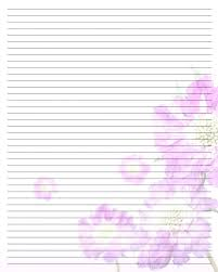 free lined paper template printable lined paper stationary pretty www picturesboss com