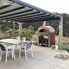 waterproof gazebo retractable roof