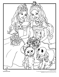Small Picture Barbie Coloring Pages Games Coloring Pages
