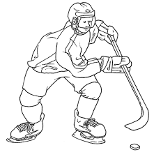 Printable Hockey Coloring Pages | Coloring Me