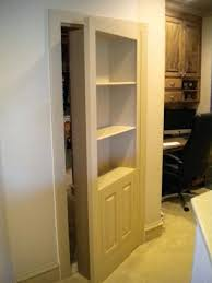shelves door door as dresser shelves above doors