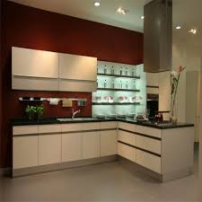 Modern Stainless Steel L Sharp Kitchen Cabinets Sale With Corner