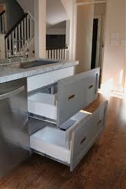 Drawer Kitchen Cabinets Kitchen Cabinet Drawer Guides Monsterlune
