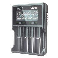 1-4 adet Li-Ion pil için hızlı şarj cihazı Şarj, deşarj ve test kapasitesi  | Li-Ion piller için | piller için (tekli) | Şarj