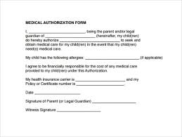 Medical Authorization Form Template Form Templates Medical Authorization Form Medical Authorization Form 2