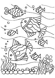 Fish Coloring Sheet Kleurplaat Vissenfostergingerpinterestcom