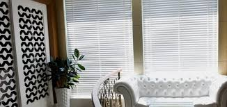 Contemporary Window Treatments - 2 Inch Premium Faux Wood Blinds