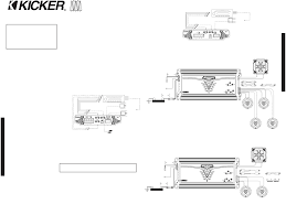 page 2 of kicker stereo amplifier zx550 3 user guide installation as easy as 1 2 3
