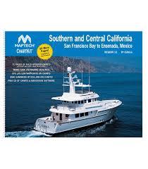 Ocean Charts California Southern And Central California San Francisco Bay To Ensenada Mexico 9th Edition