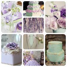 Mint, Lilac and Gold wedding colour scheme
