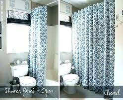 Image Bathroom Curtain Instead Of Door Bedroom Shower Stall With Doorway Ikea Groomdogco Curtain Instead Of Door Bedroom Shower Stall With Doorway Ikea