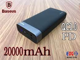 Sạc Dự Phòng Basues 20000mah có PD QC chính hãng – EDG.VN