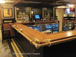 Commercial Elephant Bar Top