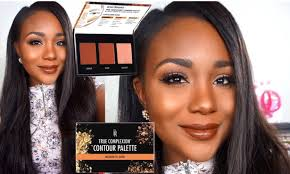 contour makeup kit for dark skin. new drugstore black radiance highlight \u0026 contour palette review + demo 2016 i dark skin - youtube makeup kit for
