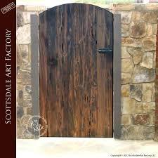 custom garden gates ed custom wood garden gates