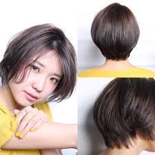 脱絶壁前下がりショートボブはお手入れが楽な女性らしい髪型