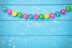 Happy Birthday Background Images Colourful Happy Birthday Background Photos By Canva